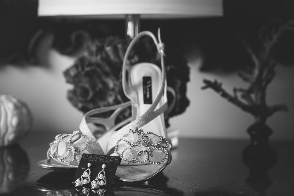 Bride Accessories during the wedding Preparations