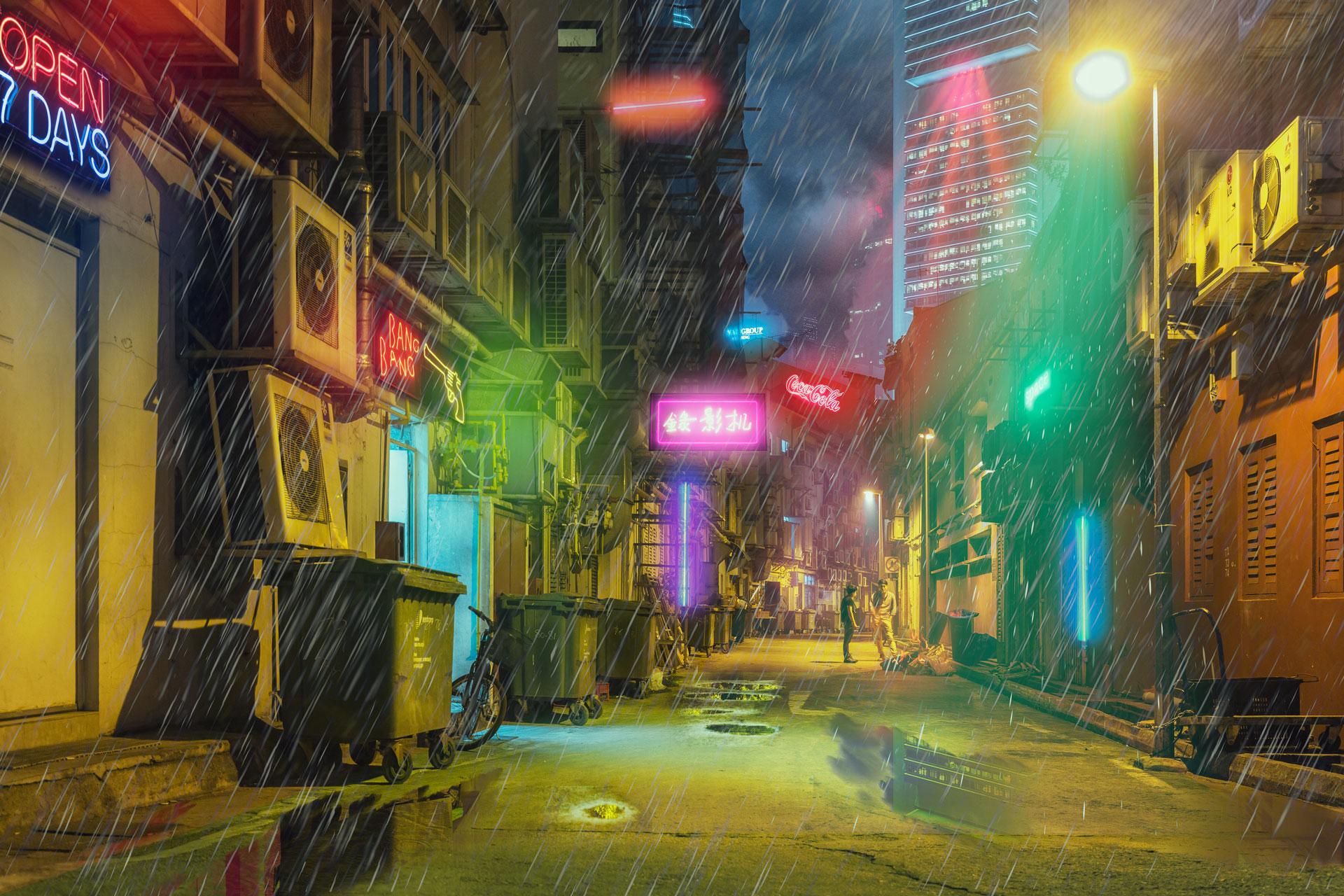 Singapore Cyberpunk
